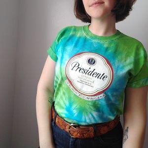 Presidente Beer Tie-Dye T-Shirt